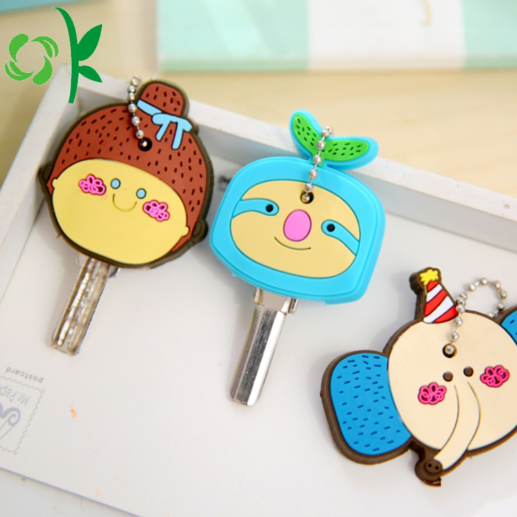 Cartoon Silicone Key Cover