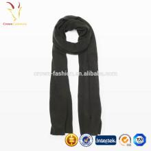 Чистый Цвет Леди шерсть вязать бесконечности шарф