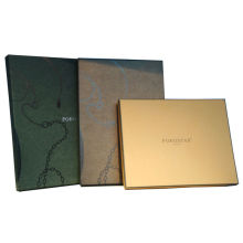 Porostar Men's Scarf Paper Boxes, Customized Coloured Keepsake Gift Box With Logo