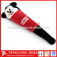 Soft cartoon mouse plush massage stick,plush massage hammer,plush massage wand