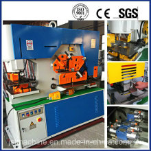 Hydraulic Iron Worker for Cutting Bending & Notching (Q35Y-25)