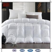 Al por mayor de lujo super king hotel cama ropa de ganso abajo edredón conjuntos de edredón