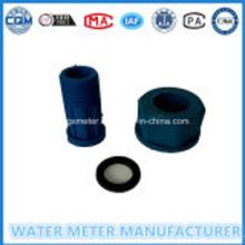 Hitam warna nilon plastik Air Aksesori Meter