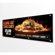 Marketing Outdoor Backdrop Hanging Advertising Banner