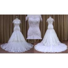 2016 spät aus Schulter Brautkleid