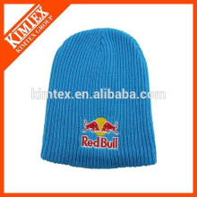 wholesale foot ball custom long design acrylic beanie