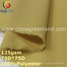 100% poliéster Chiffon Tecido de tingimento simples para têxteis (GLLML360)