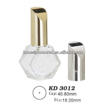 Private Label Plastic Cap Of Nail Polish Bottle With Brush