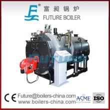 Автоматическая горизонтальная газовая паровая котельная для центрального отопления