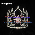 6inch Wholesale Pageant Spider Crystal Crowns