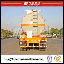 30000kgsrated Loading Mass Liquid Tank Truck (HZZ9405GHY) for Sale