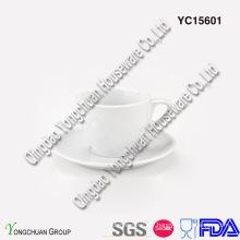 Ceramic White Espresso Coffee Set