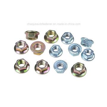 DIN6923 Jisb1190 écrou à brides hexagonales (CZ006)