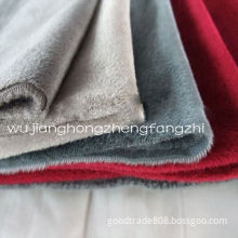 100% Polyester Tricot Velvet Home Textile Fabric, Blanket Fabric