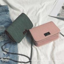 Fashion Cloth Pattern Small Square Bag Ladies One-Shoulder Messenger Bag