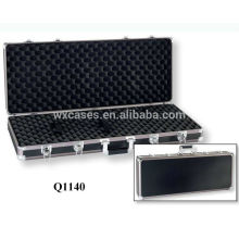 anodised aluminum rifle case with foam inside manufacturer good quality