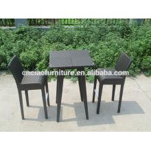 Tamborete de barra sintético moderno do rattan do furniture da barra do lazer