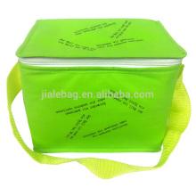 silkscreen print non woven tote Cooler Bags