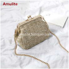 Women Beach Straw Shoulder Bags Rattan Bag