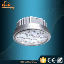 Certificado de producto bajo precio aluminio aleación LED Spotlight