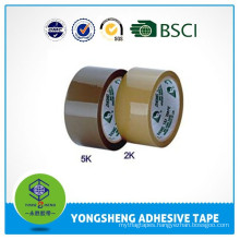 High quality BOPP fim material bopp brown packing tape popular supplier