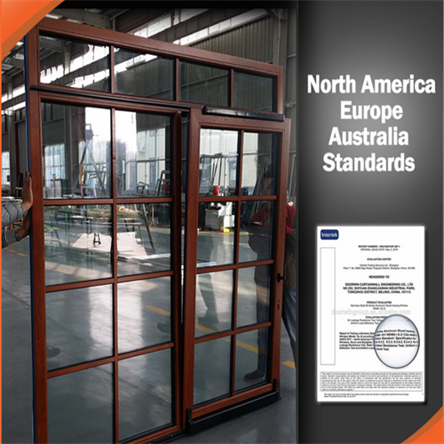 Thermal-break Aluminum Tilt and Slide Door