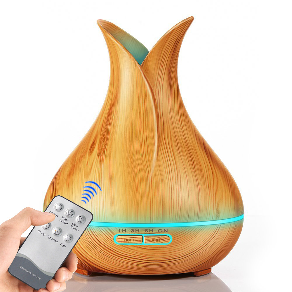 Essential Oil Led Color Light Air Humidifier