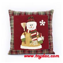 Stuffed Snowman Christmas Cushions