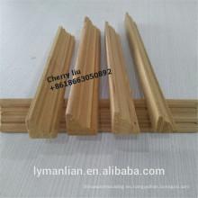 India usa moldes de madera reconstituidos en madera de esquina