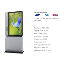"47"" Digital Network Signage LCD Floor Stand Advertising Panel"