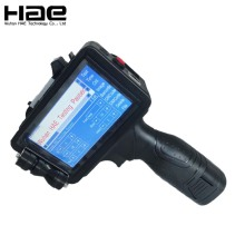 Handheld Code Date Printer Printing On Pipe