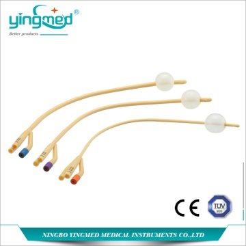 3-Way 1- Balloon Latex Foley Cathter