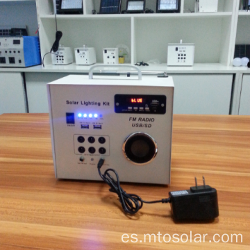 Kit de Radio FM Solar Mini 30W