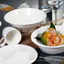 Céramique de restaurant vaisselle pour importateur hôtel de chauffage