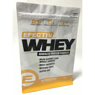 Custom print Whey Protein packaging Bag