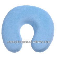 Comfortable u-shape memory foam pillow travel neck pillow