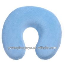 Confortável u-forma de memória espuma travesseiro travesseiro pescoço de viagem