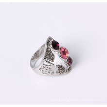 Cheap Price Fashion Jewelry Ring with Rhinestones