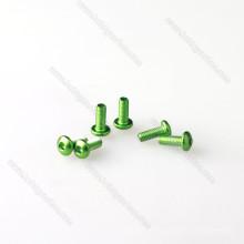 Stock 7075 aluminio redondo o tornillos de cabeza de tapa con precio de fábrica para marcos FPV