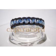 Paracord Armband D Form Metallschnalle