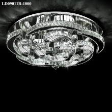 indoor lighting modern crystal chandelier chrome