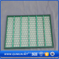 Hookstrip Flat Oil Shale Shaker Screen / Vibrating Screen