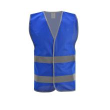 EN471 Hi Vis Blue reflecting / Reflective Safety Vest For Security