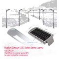 IP65 street 10W motion sensor led solar light
