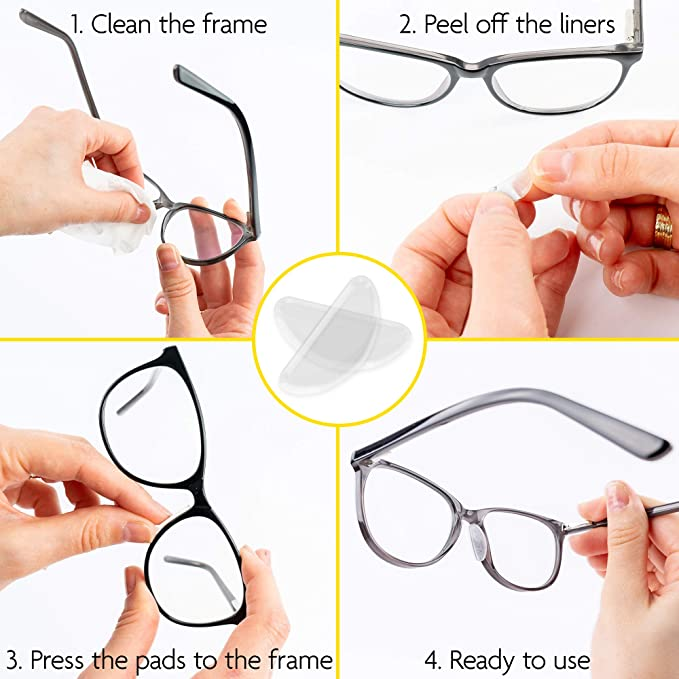Silicone Eyeglass Nose Pads