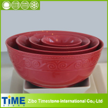 Ceramic Retro Mixing Bowl Set (15031801)