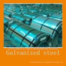 Hot-galvanização fabricação de bobina de aço