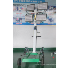 Tragbarer LED-Lichtmast Mit 4 * 400W LED-Lampen FZM-400B
