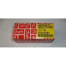 Indicateur de niveau d'huile de verre de niveau d'huile de réfrigération Danfoss (014-0181)
