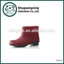 Farbige Mode Männer Rubber Regen Stiefel des Mannes Regen Stiefel D-618